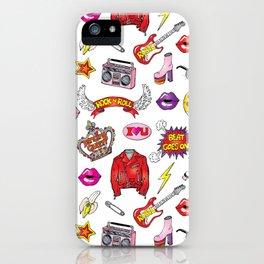 Rock n Roll iPhone Case