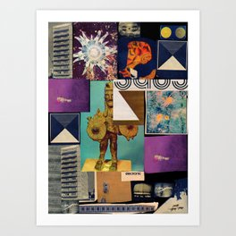 Interface 5 Art Print