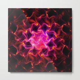 loving fire Works Metal Print