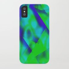 Green Color Package iPhone X Slim Case