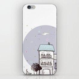 la città dalla finestra iPhone Skin