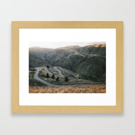 Lookout Mountain Road - Golden, Colorado Framed Art Print