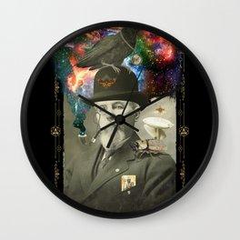 Odd Scientist Wall Clock
