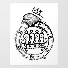 Hail King Paimon! Art Print