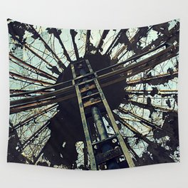 Hell House Cross Wall Tapestry