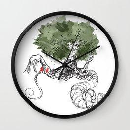Evolve - Human Nature Wall Clock