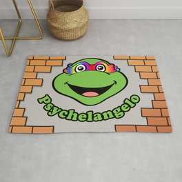 Psychelangelo - The Lost Ninja Turtle Rug