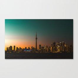 Colorful Toronto Canvas Print