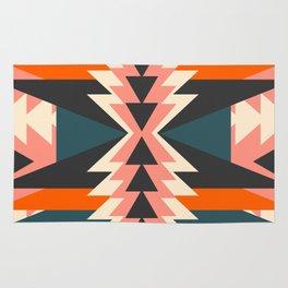 Colorful ethnic decoration Rug