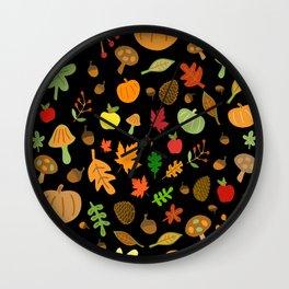 Autumn Design Wall Clock