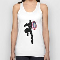 captain silva Tank Tops featuring Captain by Crayle Vanest