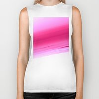 ombre Biker Tanks featuring Pink Ombre by SimplyChic