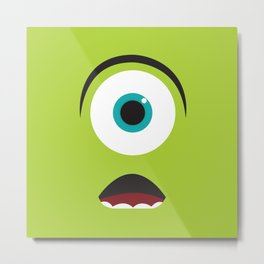 Monsters Inc. No. 1 Metal Print