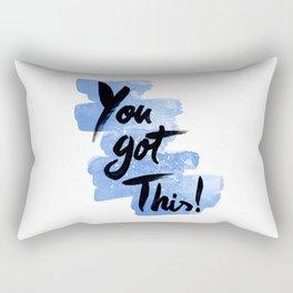 You Got This! Rectangular Pillow