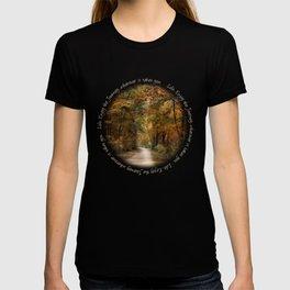 Autumn Forest Path Journey T-shirt