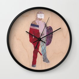 Defender Wall Clock