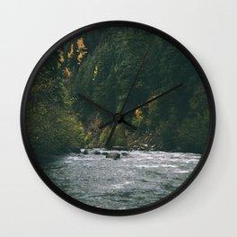 East Fork Hood River Wall Clock
