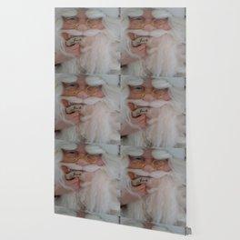 Up close with Santa Wallpaper