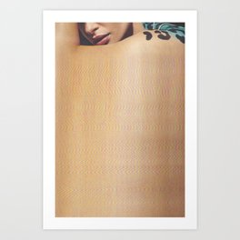 Bazaar #35 Art Print
