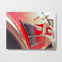 Buick details Metal Print