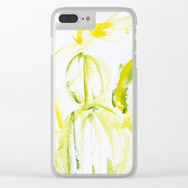 Tequila Plants Clear iPhone Case