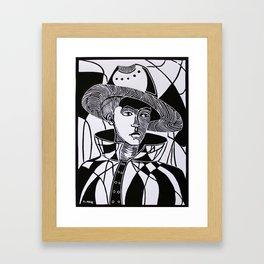 Mimetic Framed Art Print