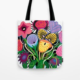 Yelapa Flowers Tote Bag