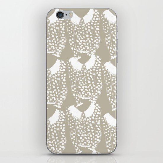 Polka Dot Sweater iPhone & iPod Skin