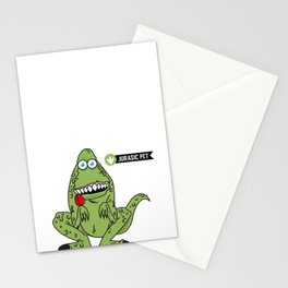 Jurasic Pet Stationery Cards