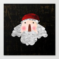 santa Canvas Prints featuring Santa  by Inmyfantasia