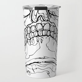 Carnibal / Ink Skull / Black / S Travel Mug