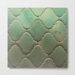 antiques tiles Metal Print