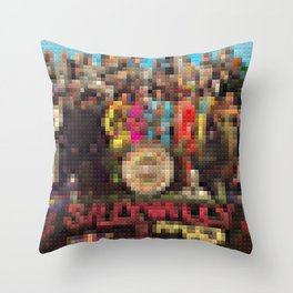 Sgt. Pepper's Lonely Heart Club Band - Legobricks Throw Pillow