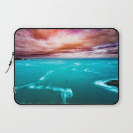 Fire and Water Sea Laptop Sleeve