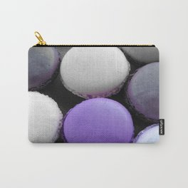 Macaroons Dark Purple Carry-All Pouch