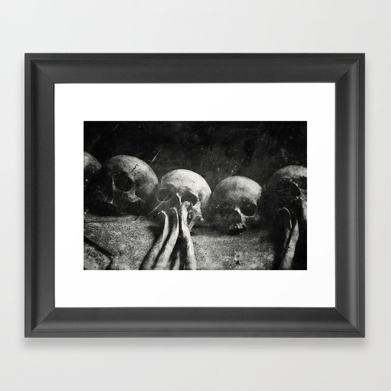 Once Were Warriors IV. Framed Art Print