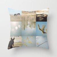 karen Throw Pillows featuring karen pillow by Sw19Gallery