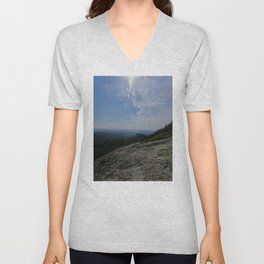 Scenic Views From Chick Hill Unisex V-Neck