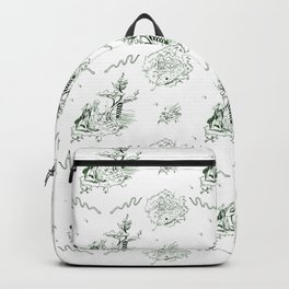 Slytherin Toile Backpack