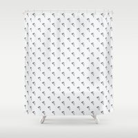 pizza Shower Curtains featuring Pizza by annies