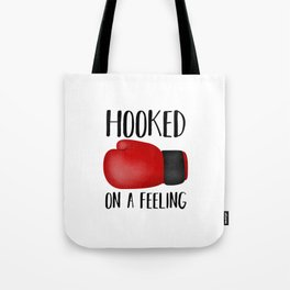 Hooked On A Feeling | Boxing Glove Tote Bag
