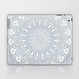 Cool Gray Mandala Simplistic Bold Minimal Minimalistic Laptop & iPad Skin