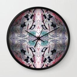 Abstract reflections 1 Wall Clock