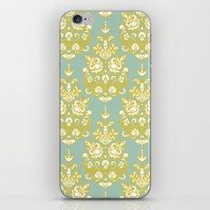 Anush damask ikat iPhone & iPod Skin