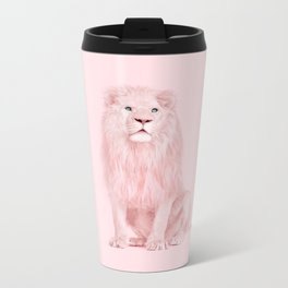 PINK LION Metal Travel Mug