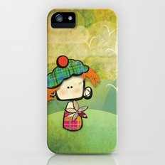 flower of scotland iPhone (5, 5s) Slim Case