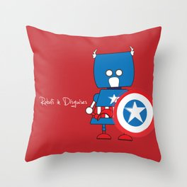 Robots in Disguises Throw Pillow