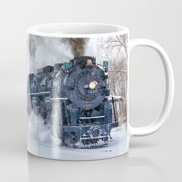 North Pole Express Train (Steam engine Pere Marquette 1225) Coffee Mug