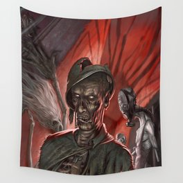 Night and Demons Wall Tapestry