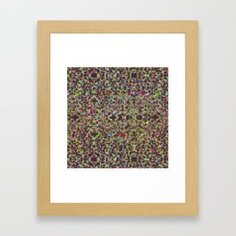 Raisin Explosion Framed Art Print